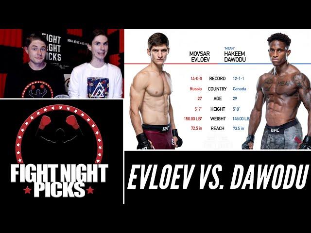 UFC 263: Movsar Evloev vs. Hakeem Dawodu Prediction