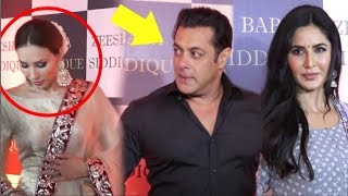 Salman Khan AVOIDS Iulia Vantur While With Katrina Kaif At Baba Siddique Iftar Party 2018