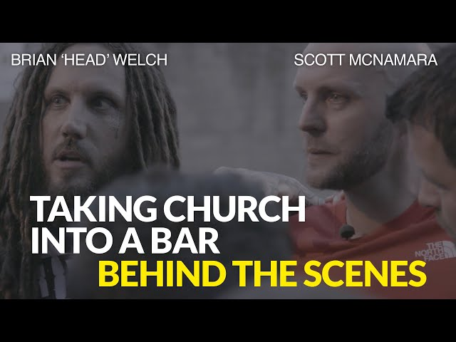 Taking Church into a Bar: Behind the Scenes