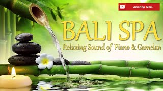 1 HOURS relaxing music PIANO and GAMELAN for Yoga, Massage, SPA
