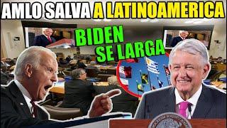 ¡HISTORICO! AMLO Convierte a LATINOAMERICA En La Región MÁS PODEROSA ¡LE PONE UN ALTO TOTAL A EUA!