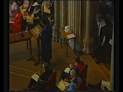 University of Kent, Canterbury, graduation in the Cathedral 1991