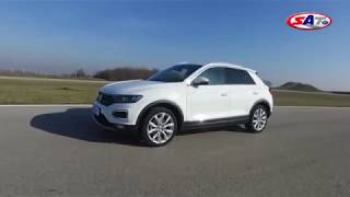 Volkswagen T-Roc - Test on track NAVAK  by SAT TV Show