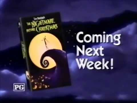 ABC - Nightmare Before Christmas VHS (1994) - YouTube