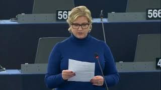 Karin Karlsbro 25 Nov 2019 plenary speech on EU Ukraine Agreement