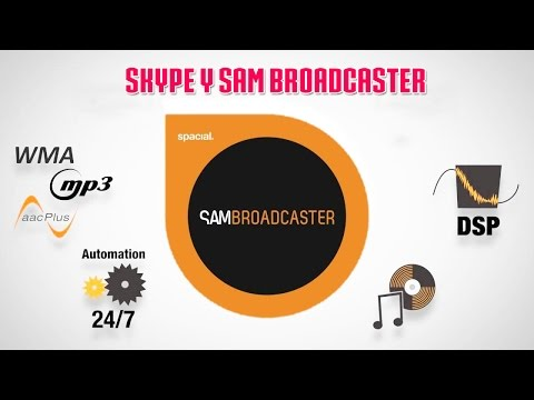 Configurar Skype y Sam Broadcaster con Virtual Audio Cable
