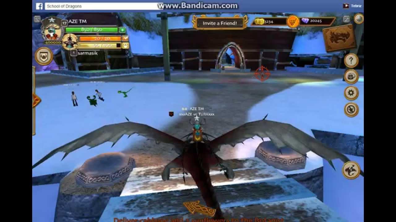 School Of Dragons Changewing dragon - YouTube