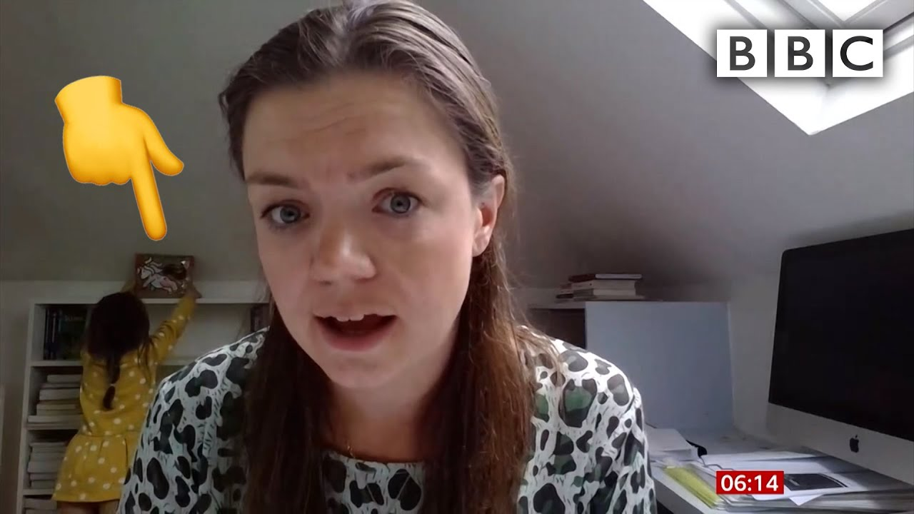 Where should Scarlett's unicorn go? @BBC News interview interrupted - BBC