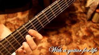 Как играть флажолеты на гитаре. (ВИДЕОУРОК)
