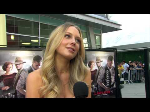 Melissa Ordway at 'Lawless' Premiere! HD
