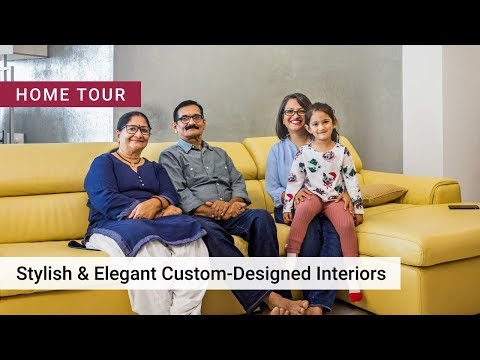 Modern Home Interiors For A 3BHK In Brigade Exotica Bangalore
