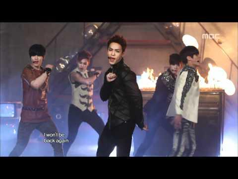 BTOB - Insane, 비투비 - 비밀, Music Core 20120324