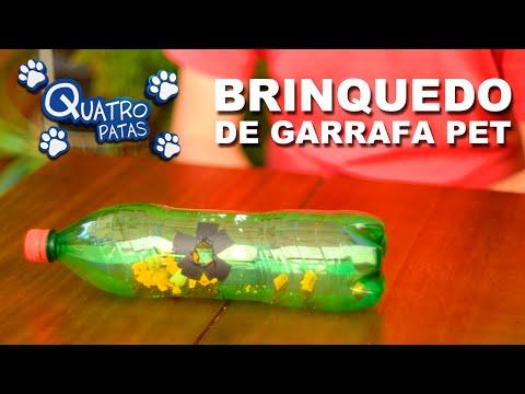 Brinquedo De Garrafa Pet - Quatro Patas Mão Na Massa!