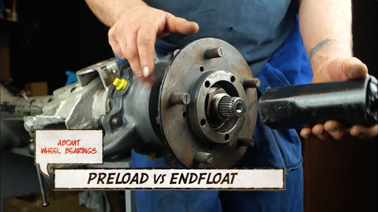 how to preload the bearing in a end drive