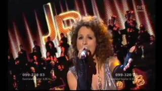 Melodifestivalen 2009Jennifer Brown - Never been here before