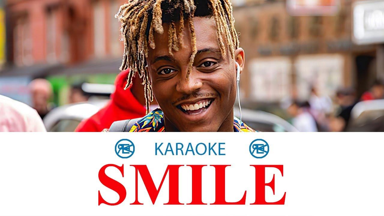 Smile - Juice WRLD & The Weeknd | karaoke, instrumental cover