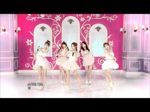음악중심 - Girl's Day - Hug Me Once, 걸스데이 - 한 번만 안아줘, Music Core 20110709