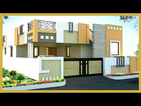 Latest Indian House Single Floor Elevation Design Single