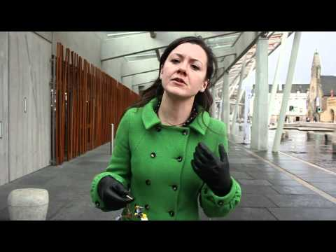 Friends of the Earth Access to Environmental Justice stunt, Scottish Parliament