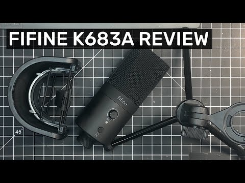 Fifine K683A Microphone Review (Very good for the price!)