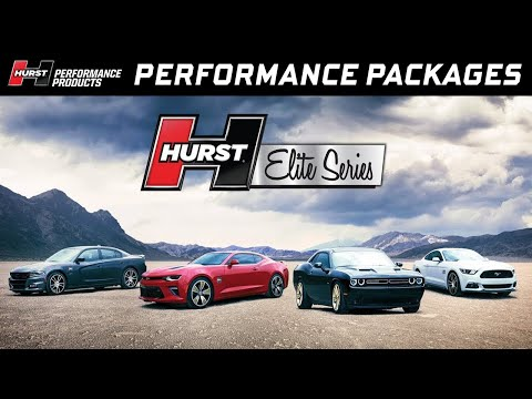 Hurst Elite Series Performance Packages for Camaro, Challenger, Charger and Mustang