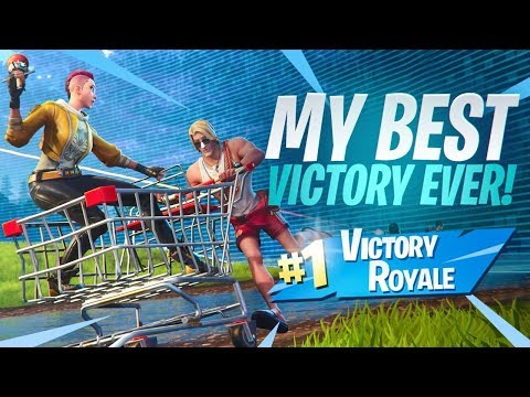MY BIGGEST CARRY EVER! PLAYING SQUADS WITH RANDOMS! Fortnite Battle Royale