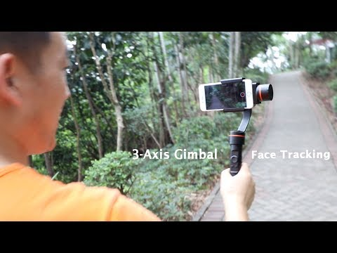 3-Axis Handheld Phone Gimbal Stabilizer Review  2017 New