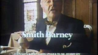 Smith Barney commercial 1979