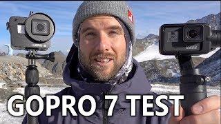 GoPro 7 Stabilization Test Snowboarding