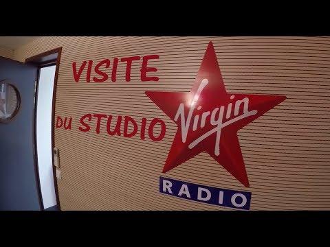Visite du studio de Virgin Radio Rennes