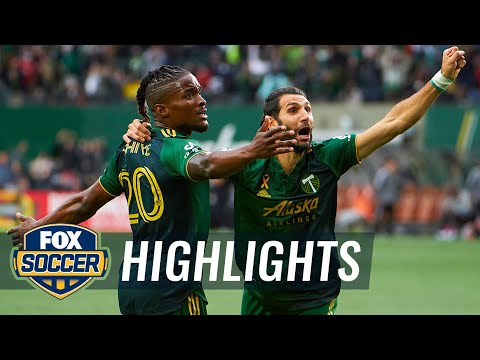 Portland Timbers Los Angeles FC Goals And Highlights