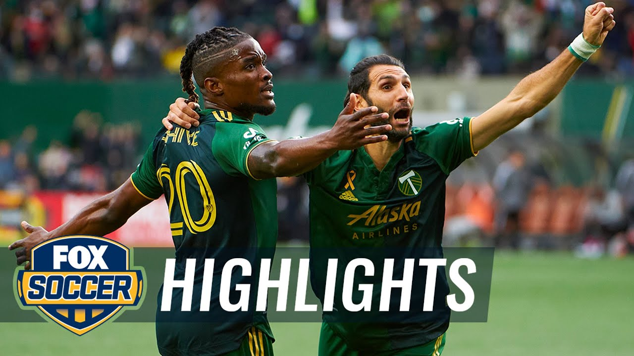 Download George Fochive's goal the difference in Timbers' 2-1 win over LAFC | MLS Highlights