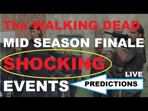 The Walking Dead Season 8 - MID SEASON FINALE - SHOCKING EVENTS PREDICTIONS
