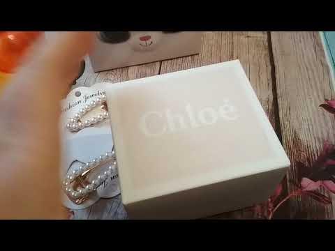 Невероятный аромат Chloe, очень вкусный, жемчужные заколки с АлиЭкспресс