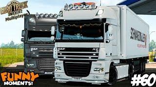 Euro Truck Simulator 2 Multiplayer   Funny Moments & Crash Compilation   #60