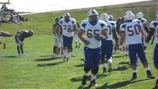 Baylen Laury TD run (1st of game Southeastern Oklahoma State vs. ENMU 10/30/10)