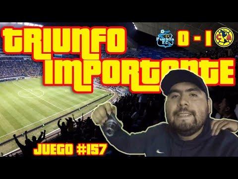 TRIUNFO IMPORTANTISIMO EN PUEBLA - PUEBLA VS CLUB AMÉRICA - Vlog #157 - Del Crema Soy