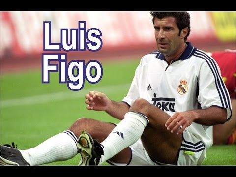 Luis Figo Skills Goals Tricks