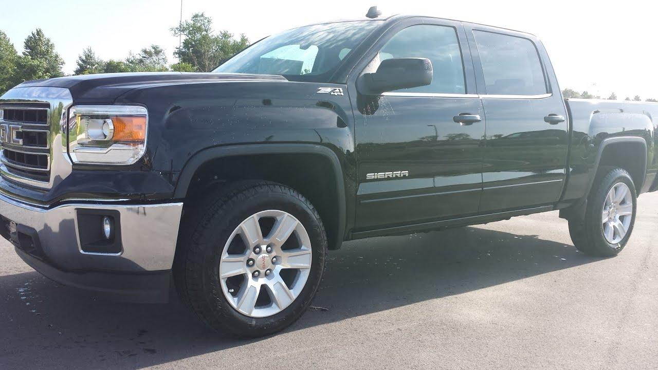sold2014 GMC SIERRA 1500 SLE Z71 4X4 CREW CAB ONYX BLACK