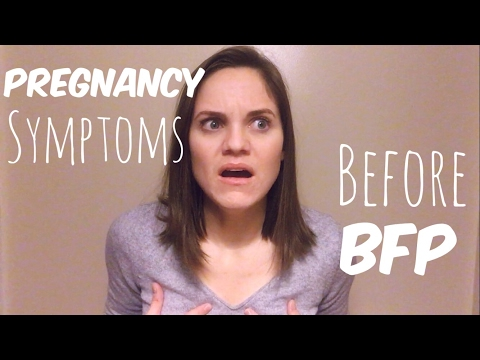 First Pregnancy Symptoms Before BFP   Finding Out I Was Pregnant