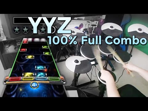 Rush  YYZ 100% FC Expert Pro Drums RB4