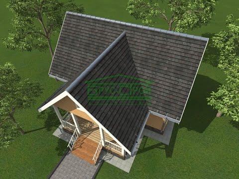 видео: Подготовка и покрытие крыши металлочерепицей | своими руками
