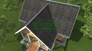 Подготовка и покрытие крыши металлочерепицей - http://brus-stroj.ru/