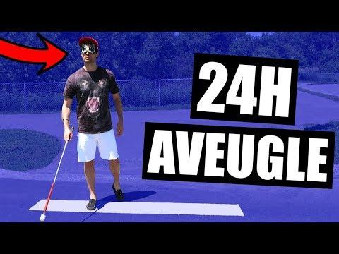 VIVRE AVEUGLE PENDANT 24H - HUBY
