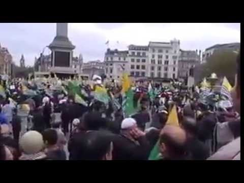 Largest protest rally held in London on 18 Aug 2016 for Kashmir :London