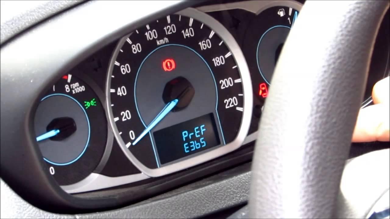 Painel Ford Ka 2015 - modo testes e consumo - YouTube