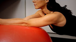 Swiss Ball Stabilizing Exercise | Back Pain Relief