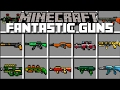 Minecraft WEIRD GUN MOD / SET UP YOUR OWN ARMY AND MAKE THEM FIGHT WARS!! Minecraft