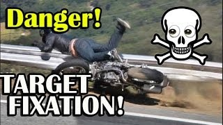 How to Prevent Target Fixation on a Motorcycle - Route 555 Incident