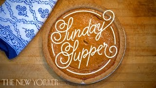 """""""Sunday Supper"""" with Ariel Levy"""
